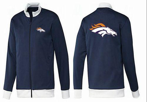 NFL Denver Broncos Team Logo Jacket Dark Blue_1