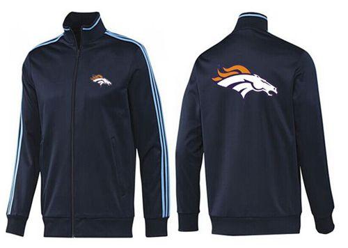 NFL Denver Broncos Team Logo Jacket Dark Blue_2