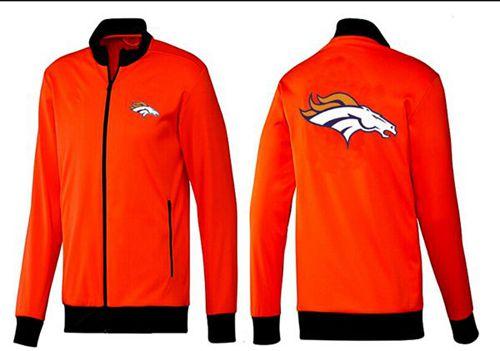 NFL Denver Broncos Team Logo Jacket Orange