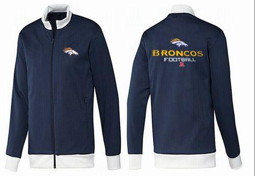 NFL Denver Broncos Victory Jacket Dark Blue_1