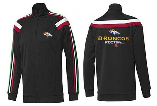 NFL Denver Broncos Victory Jacket Black_3