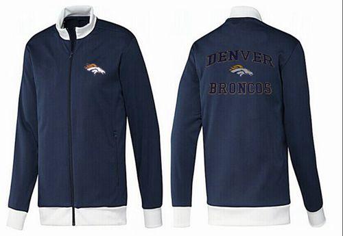 NFL Denver Broncos Heart Jacket Dark Blue