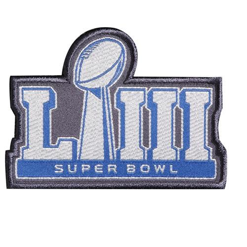 Stitched NFL 2019 Super Bowl LIII Jersey Patch