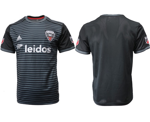 D.C. United Blank Home Soccer Club Jersey