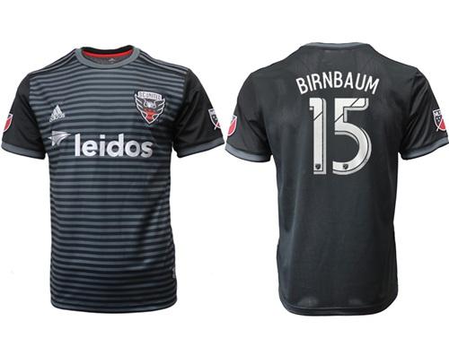 D.C. United #15 Birnbaum Home Soccer Club Jersey