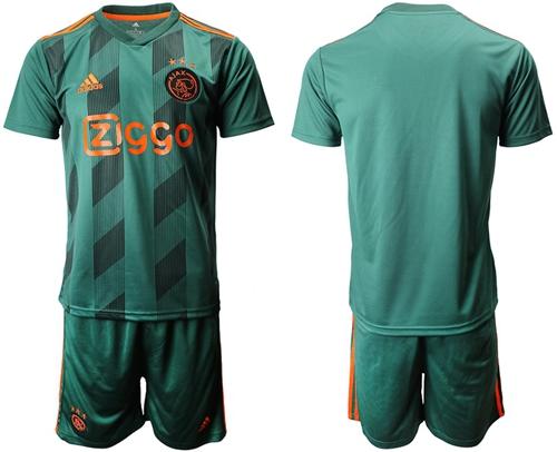 Ajax Blank Away Soccer Club Jersey