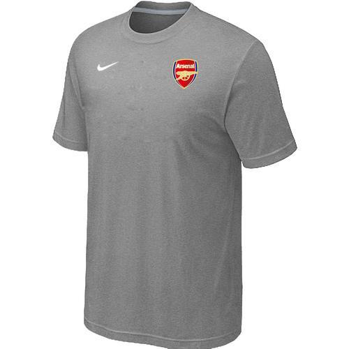 Nike Arsenal Soccer T-Shirt Light Grey