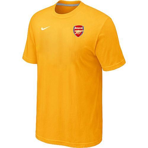 Nike Arsenal Soccer T-Shirt Yellow