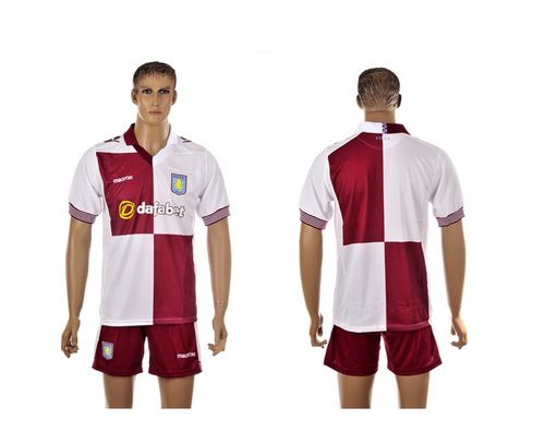 Aston Villa Blank Away Soccer Club Jersey