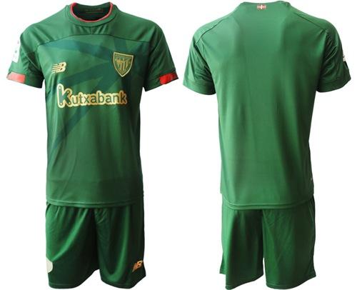 Athletic Bilbao Blank Away Soccer Club Jersey