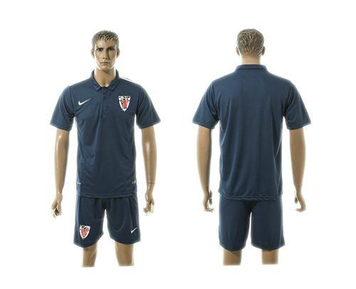 Athletic Bilbao Blank Blue Training Soccer Club Jersey