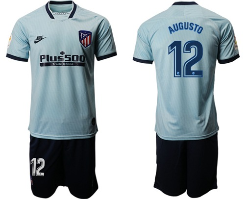 Atletico Madrid #12 Augusto Third Soccer Club Jersey