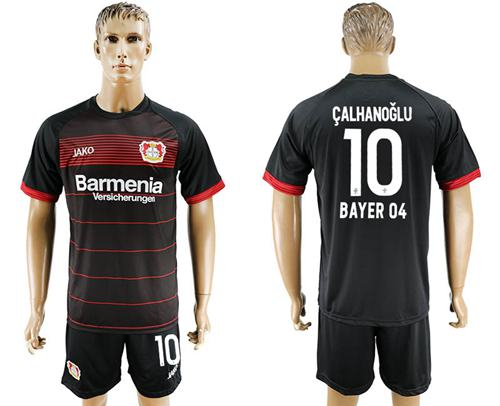 Bayer Leverkusen #10 Calhanoglu Home Soccer Club Jersey