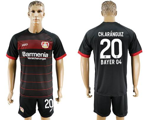 Bayer Leverkusen #20 Ch.Aranguiz Home Soccer Club Jersey