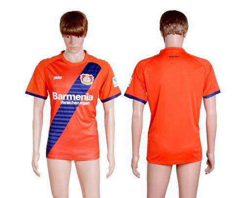Bayer Leverkusen Blank Away Soccer Club Jersey