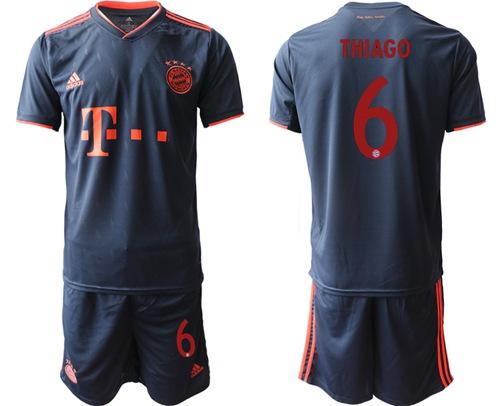 Bayern Munchen #6 Thiago Third Soccer Club Jersey