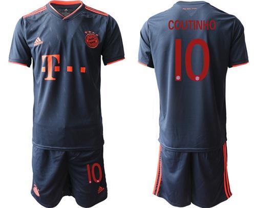 Bayern Munchen #10 Coutinho Third Soccer Club Jersey