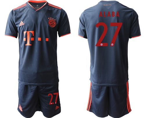Bayern Munchen #27 Alaba Third Soccer Club Jersey