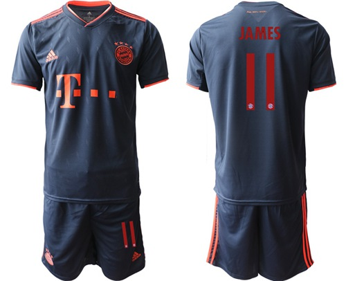 Bayern Munchen #11 James Third Soccer Club Jersey