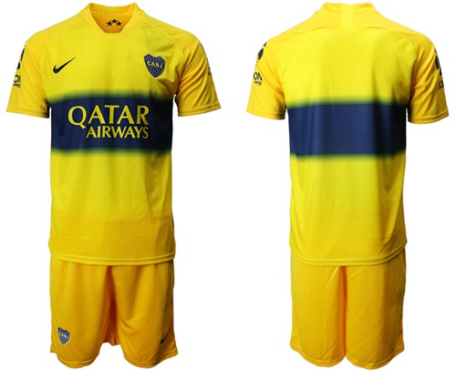 Boca Juniors Blank Away Soccer Club Jersey