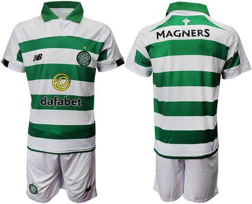 Celtic Blank Home Soccer Club Jersey