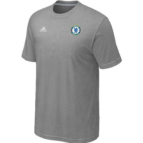 Adidas Chelsea Soccer T-Shirt Light Grey