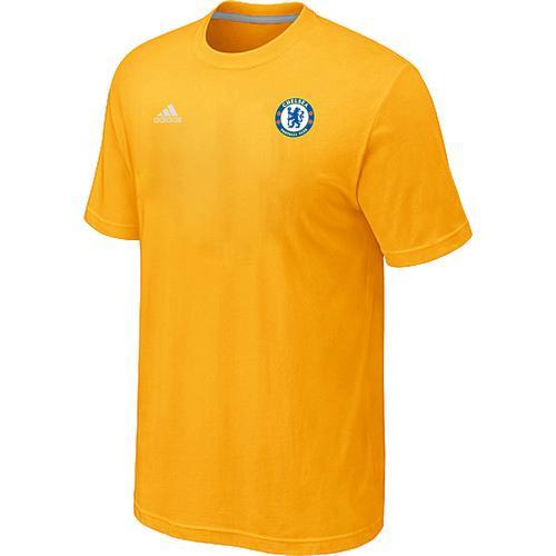 Adidas Chelsea Soccer T-Shirt Yellow
