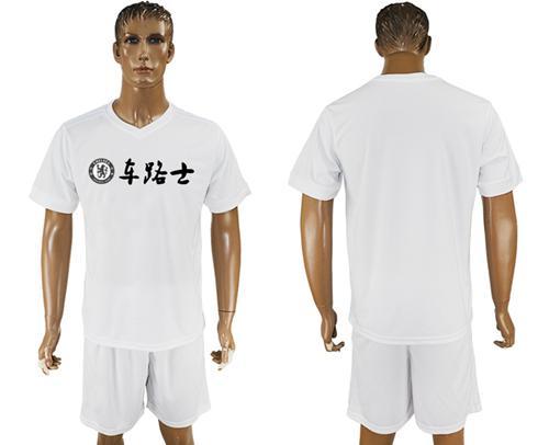 Chelsea Blank White Soccer Club T-Shirt