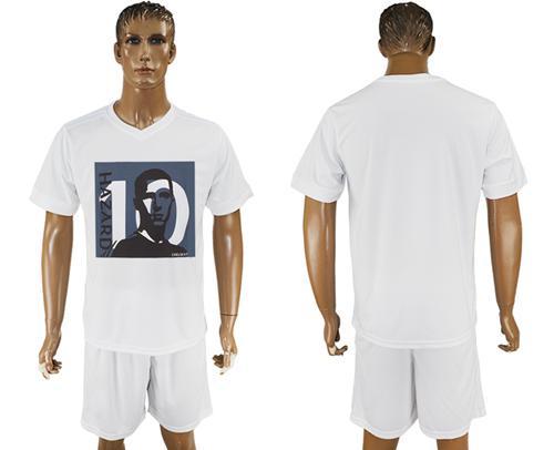 Chelsea Blank White Soccer Club T-Shirt_1