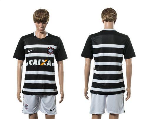 Corinthians Blank Away Soccer Club Jersey
