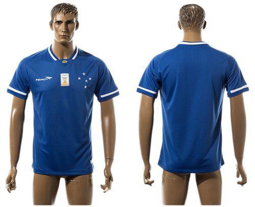 Cruzeiro Esporte Clube Blank Home Soccer Club Jersey