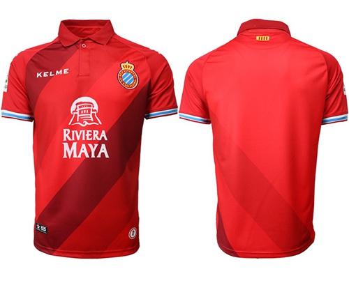 Espanyol Blank Away Soccer Club Jersey