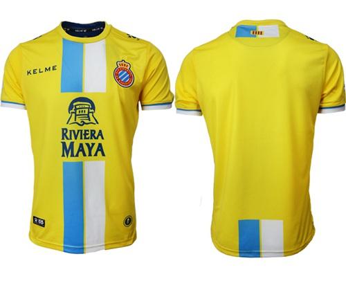 Espanyol Blank Third Soccer Club Jersey