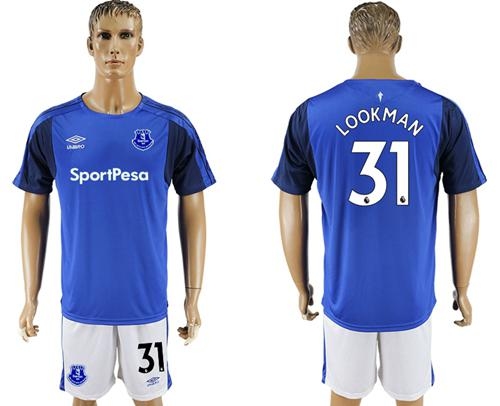 Everton #31 Lookman Home Soccer Club Jersey