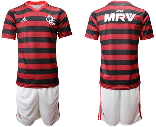 Flamengo Blank Home Soccer Club Jersey