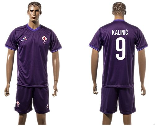 Florence #9 Kalinic Home Soccer Club Jersey