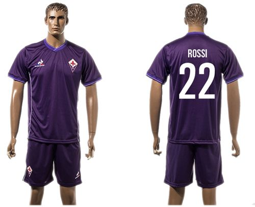 Florence #22 Rossi Home Soccer Club Jersey