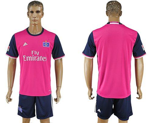 Hamburg Blank Away Soccer Club Jersey