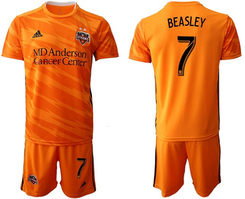Dynamo #7 Beasley Home Soccer Club Jersey