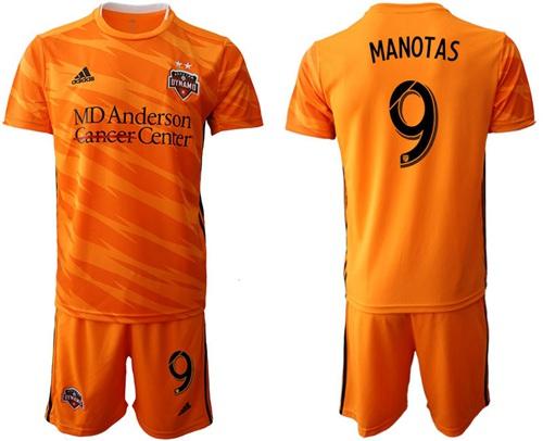 Dynamo #9 Manotas Home Soccer Club Jersey