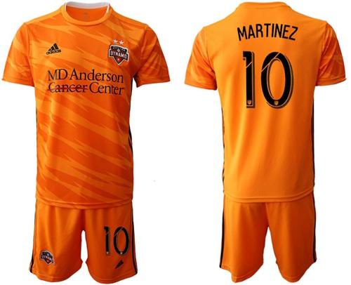 Dynamo #10 Martinez Home Soccer Club Jersey