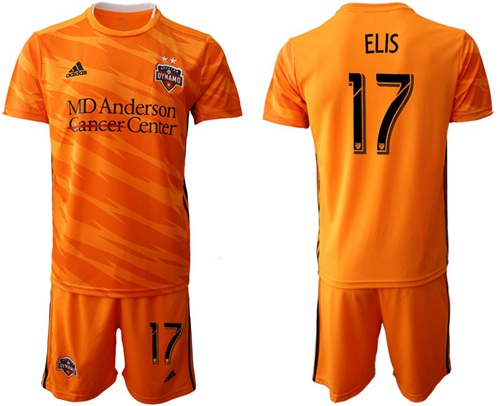 Dynamo #17 Elis Home Soccer Club Jersey