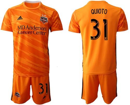 Dynamo #31 Quioto Home Soccer Club Jersey