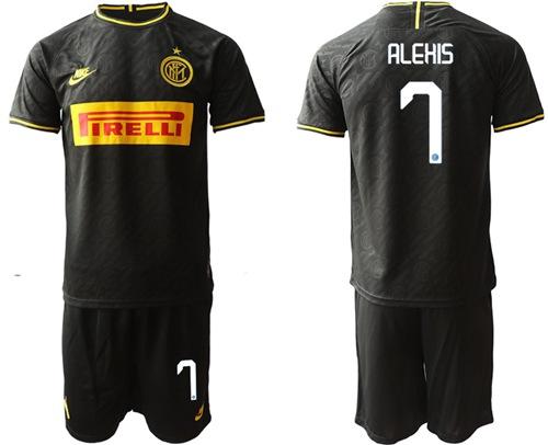 Inter Milan #7 Alexis Third Soccer Club Jersey