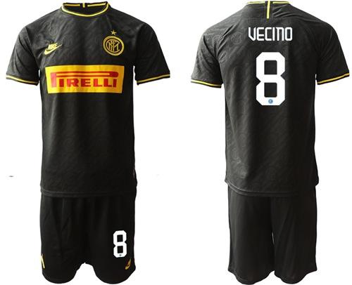 Inter Milan #8 Vecino Third Soccer Club Jersey
