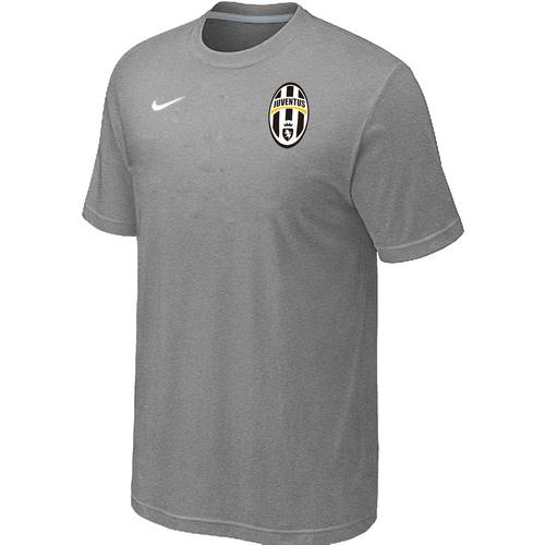 Nike Juventus Soccer T-Shirt Light Grey