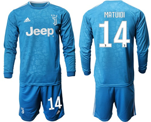 Juventus #14 Matuidi Third Long Sleeves Soccer Club Jersey