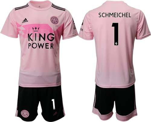 Leicester City #1 Schmeichel Away Soccer Club Jersey