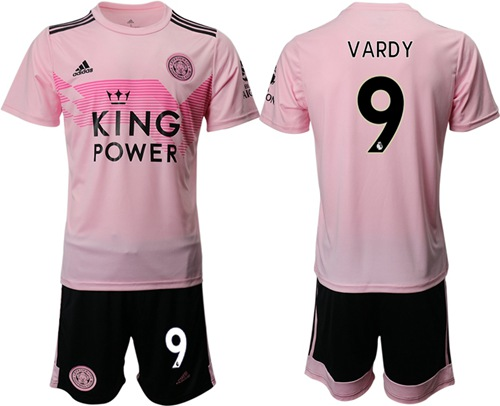 Leicester City #9 Vardy Away Soccer Club Jersey