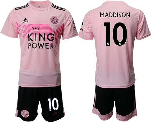 Leicester City #10 Maddison Away Soccer Club Jersey